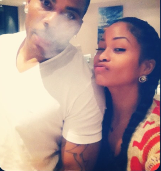 Nelly Moves On From Ashanti With Tae Heckard