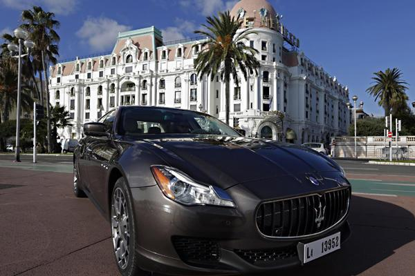 Maserati Quattroporte Car-Dec. 10, 2012
