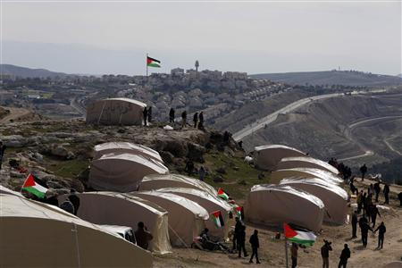 Palestinian protest camp