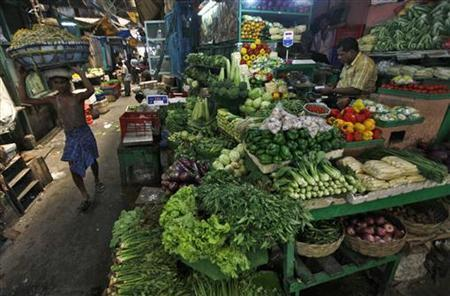 India's WPI Inflation At Three-Year Low