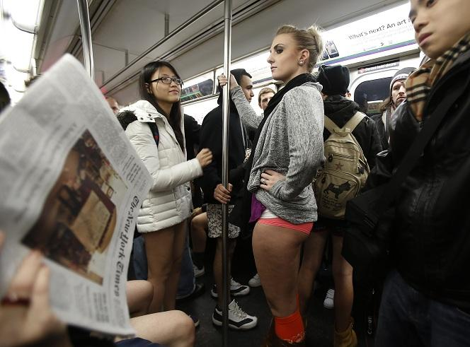 NYC no pants Jan 2013 2