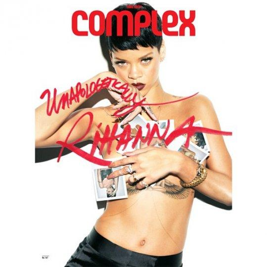 Rihanna Shoots Seven Covers For Complex Magazine