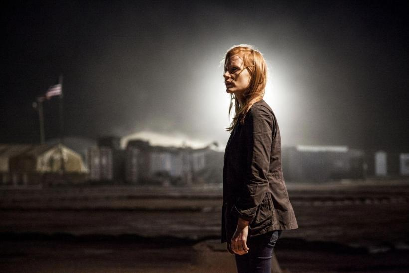 Chastain In 'Zero Dark Thirty'