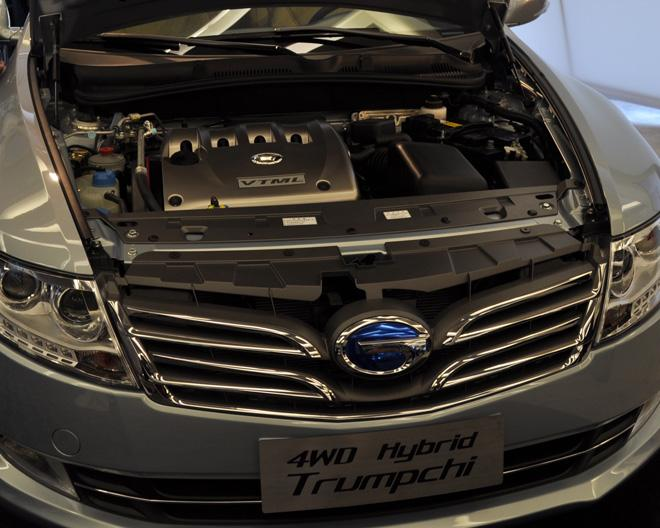 GAC Trumpchi 4WD - Under the hood