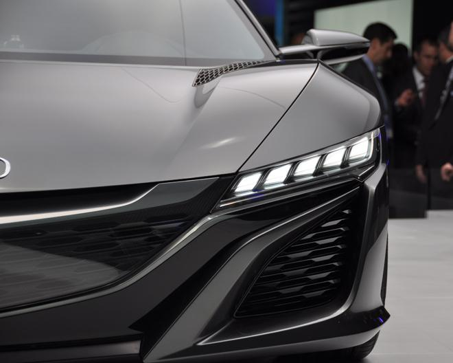 Acura NSX Concept hybrid sports car