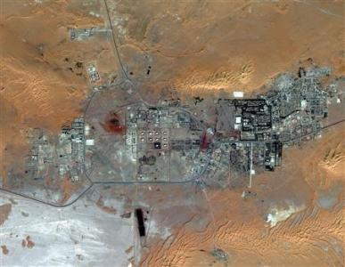 Algeria Amenas Gas Field