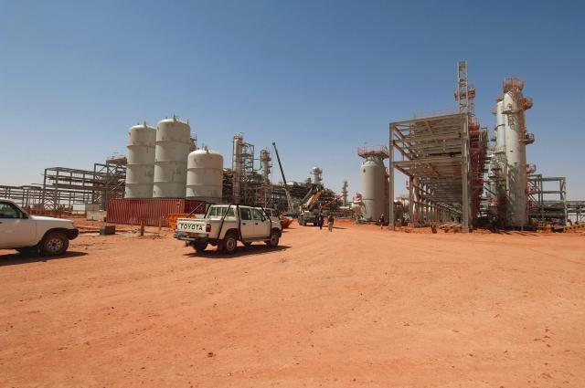 In Amenas Gas Plant, Algeria