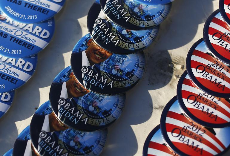 Inauguration Obama-Biden Buttons