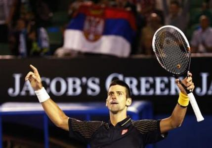 Djokovic Moves On In Melbourne