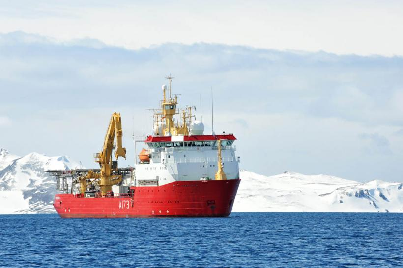 Royal Navy HMS Protector