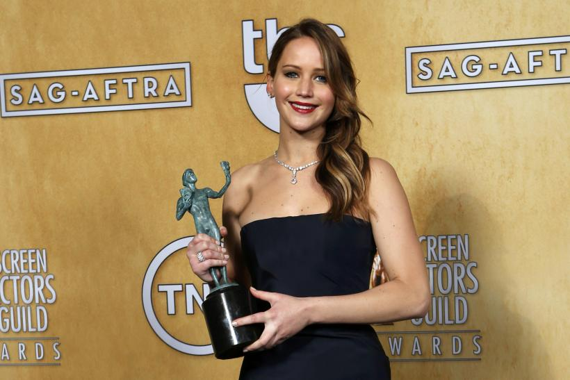 Jennifer Lawrence-SAG Awards-Jan. 27, 2013