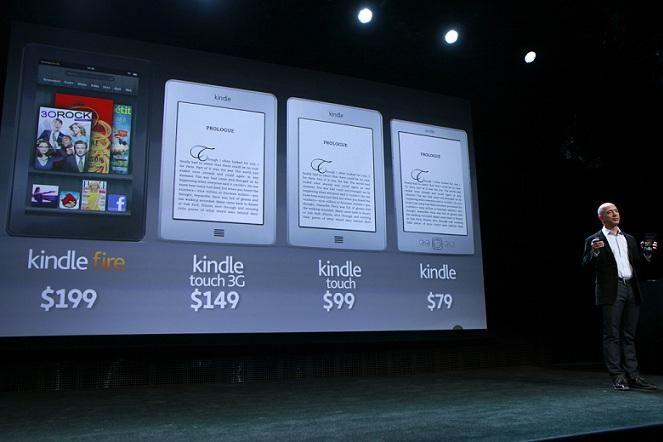 Amazon Bezos Kindle 2