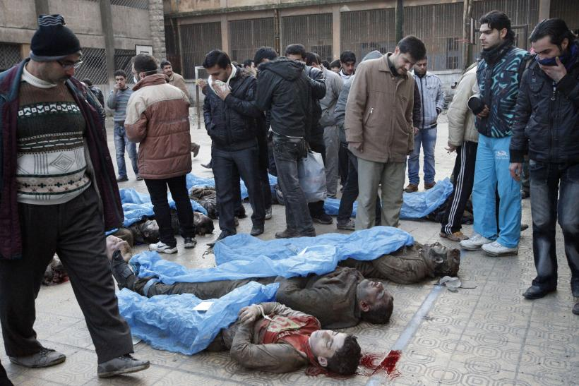 Washed-Up Bodies From A Massacre Outside Aleppo, Syria