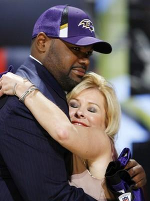Baltimore Ravens Michael Oher Annoyed With 'Blind Side' Questions Before Super Bowl 2013
