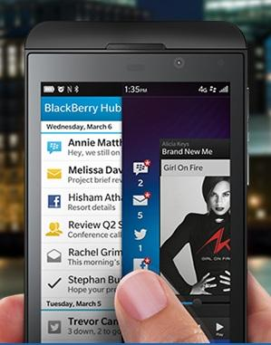 Coming Soon: BlackBerry Z10's Arrival In The US