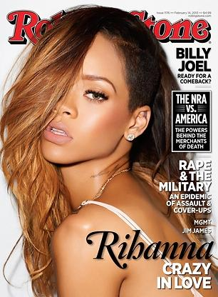 Rihanna Rolling Stone Cover: Singer Confirms Relationship with Chris Brown [PHOTO]