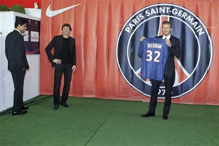 Beckham Takes Show To Paris