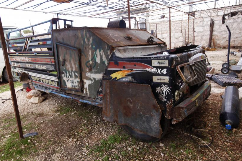 Free Syrian Army vehicle