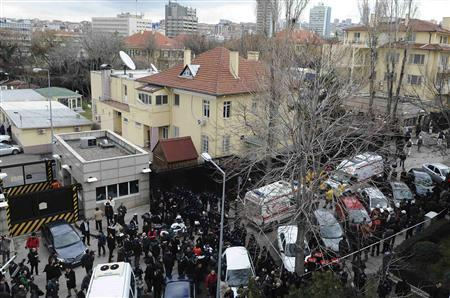 At Least 2 Killed, Several Wounded In Ankara US Embassy Bombing