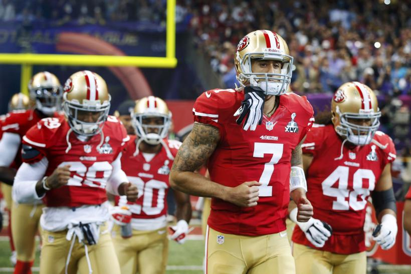 Super Bowl XLVII-Feb. 3, 2013-San Francisco 49ers-Colin Kaepernick