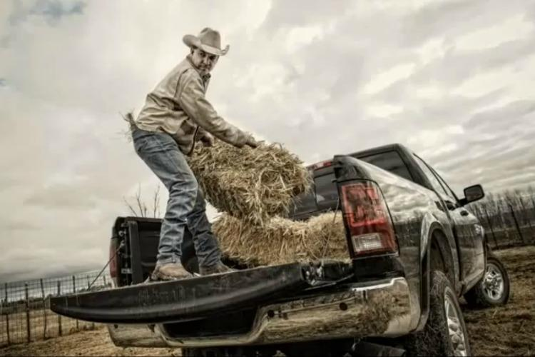 Dodge Ram 'God Made A Farmer'