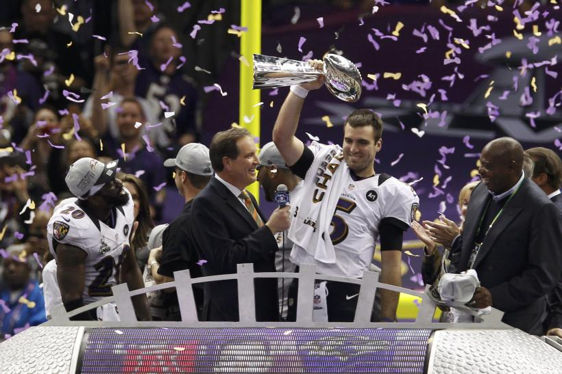 Super Bowl XLVII-Feb. 3, 2013-Vince Lombardi Trophy