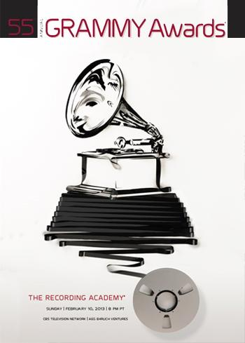 55th Grammy Awards Official Poster