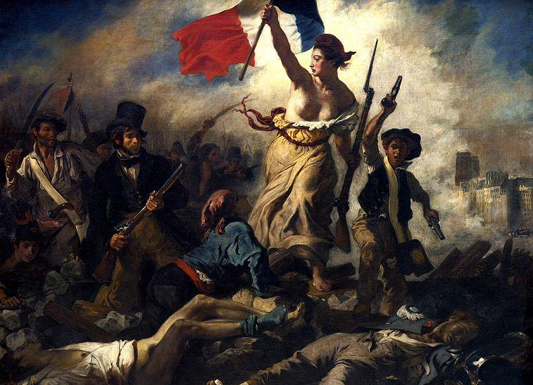 "Delacroix's ""Liberty Leading the People"""