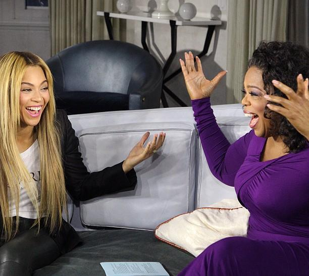 Beyoncé And Winfrey