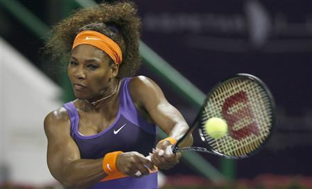 Williams, Sharapova Cruise Into Third Round In Qatar