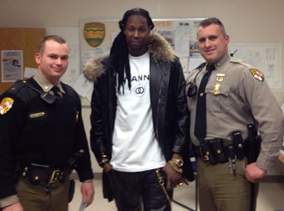 2 Chainz And Maryland Police Officers