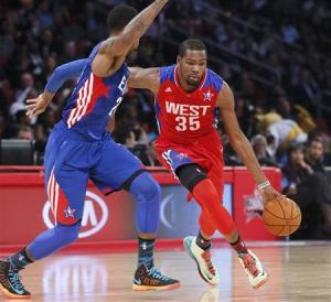 Durant Leads West Over East In All-Star Game