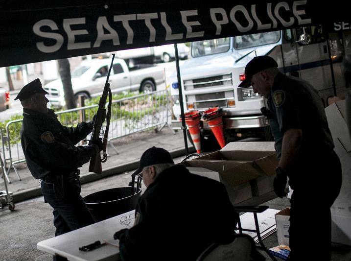 Seattle Gun Buyback Program In January