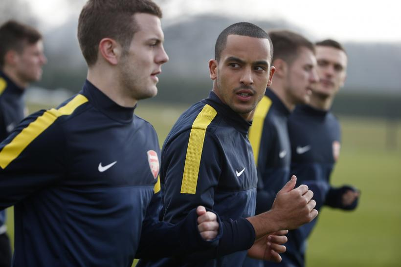 Jack Wilshere and Theo Walcott