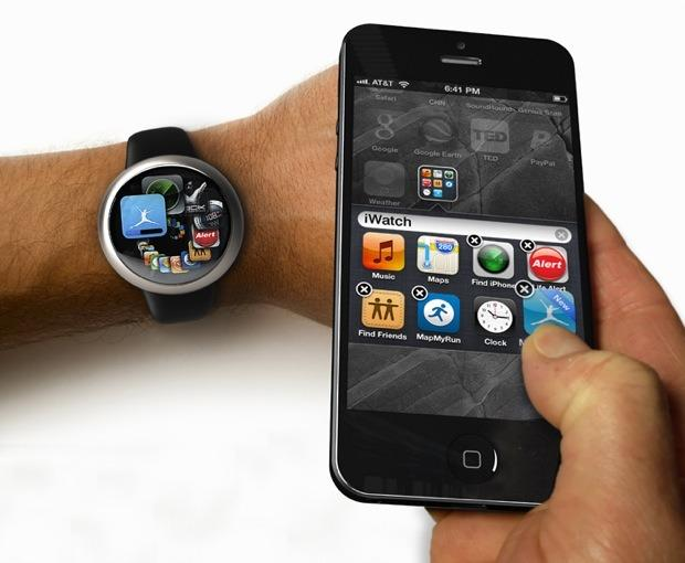 Apple iWatch working with iPhone