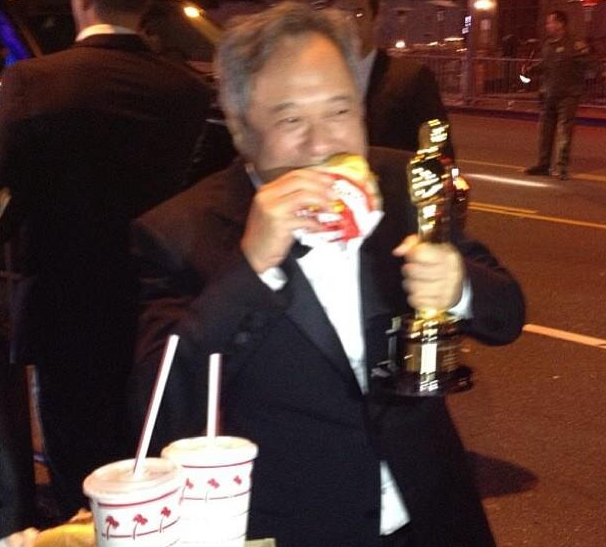 Ang Lee at In-N-Out burger