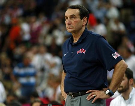 Krzyzewski Squelches Report He Will Return As U.S. Coach
