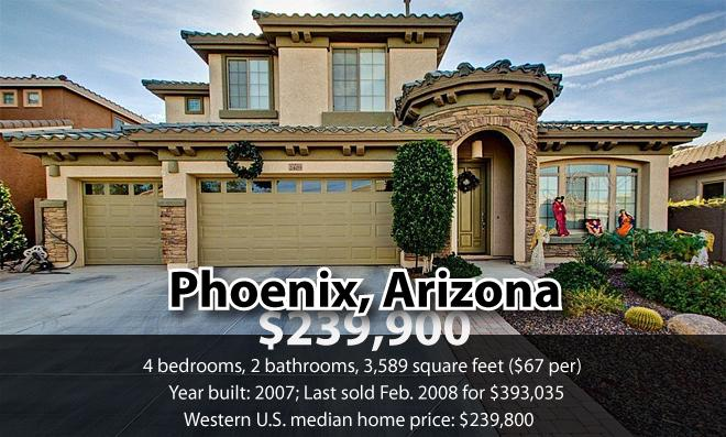 Phoenix home for sale (graphic)