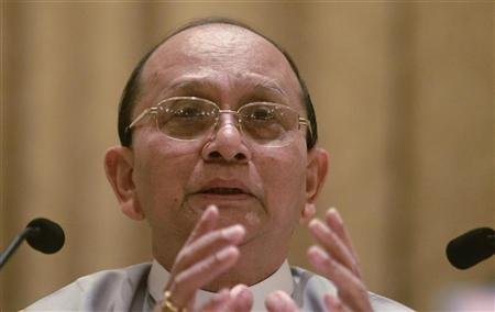 Myanmar President Thein Sein Begins Europe Tour