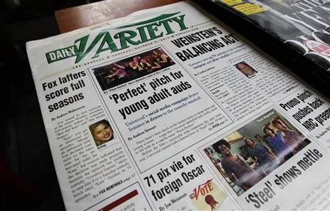 Online Nixes Print: Variety Axes Dead-Tree Edition