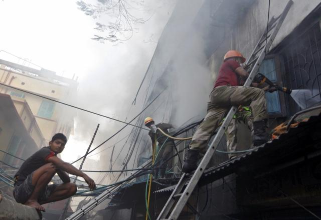 Kolkata, India, Fire