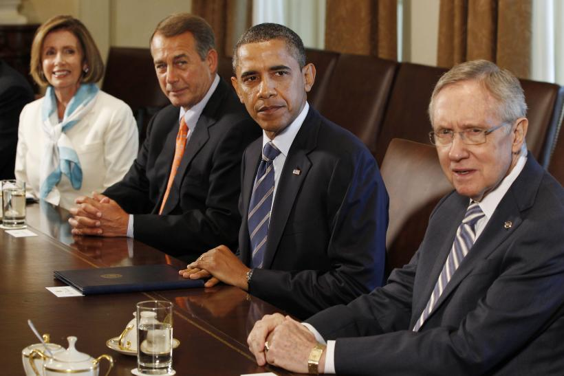 Pelosi, Boehner, Obama And Reid