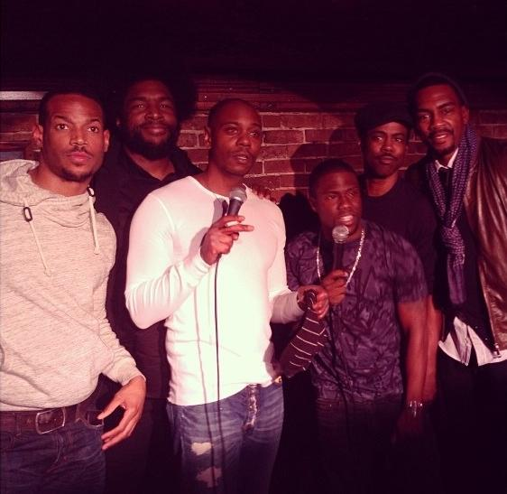 Wayans, Questlove, Chappelle, Hart, Rock And Bellamy