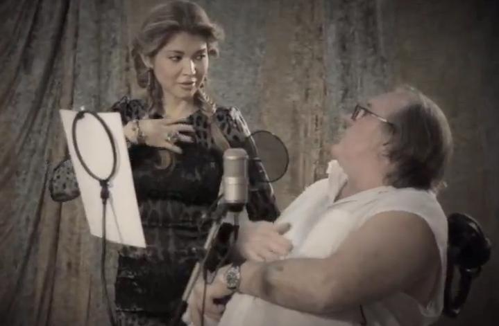 Gulnara Karimova and Gerard Depardieu