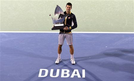 Novak Djokovic Wins Dubai Tourney