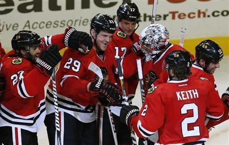 Halfway Home, Blackhawks Still On Fire