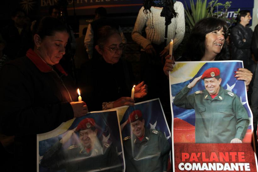 Chavez mourned in Ecuador