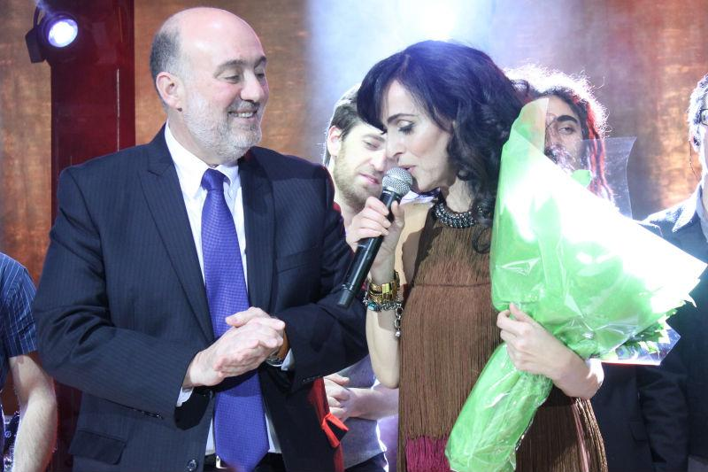Ambassador Ron Prosor and Rita