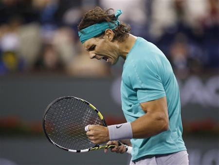Nadal Advances In BNP Paribas Open