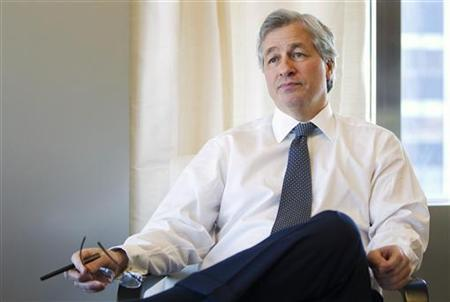 JPMorgan Chief Jamie Dimon Still Sitting Pretty